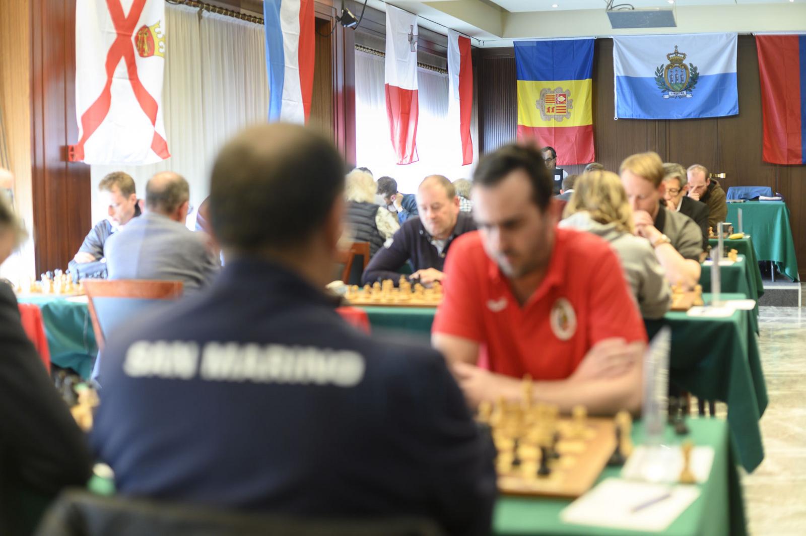 Concluso il 6° Campionato dei Piccoli Stati d'Europa di Scacchi