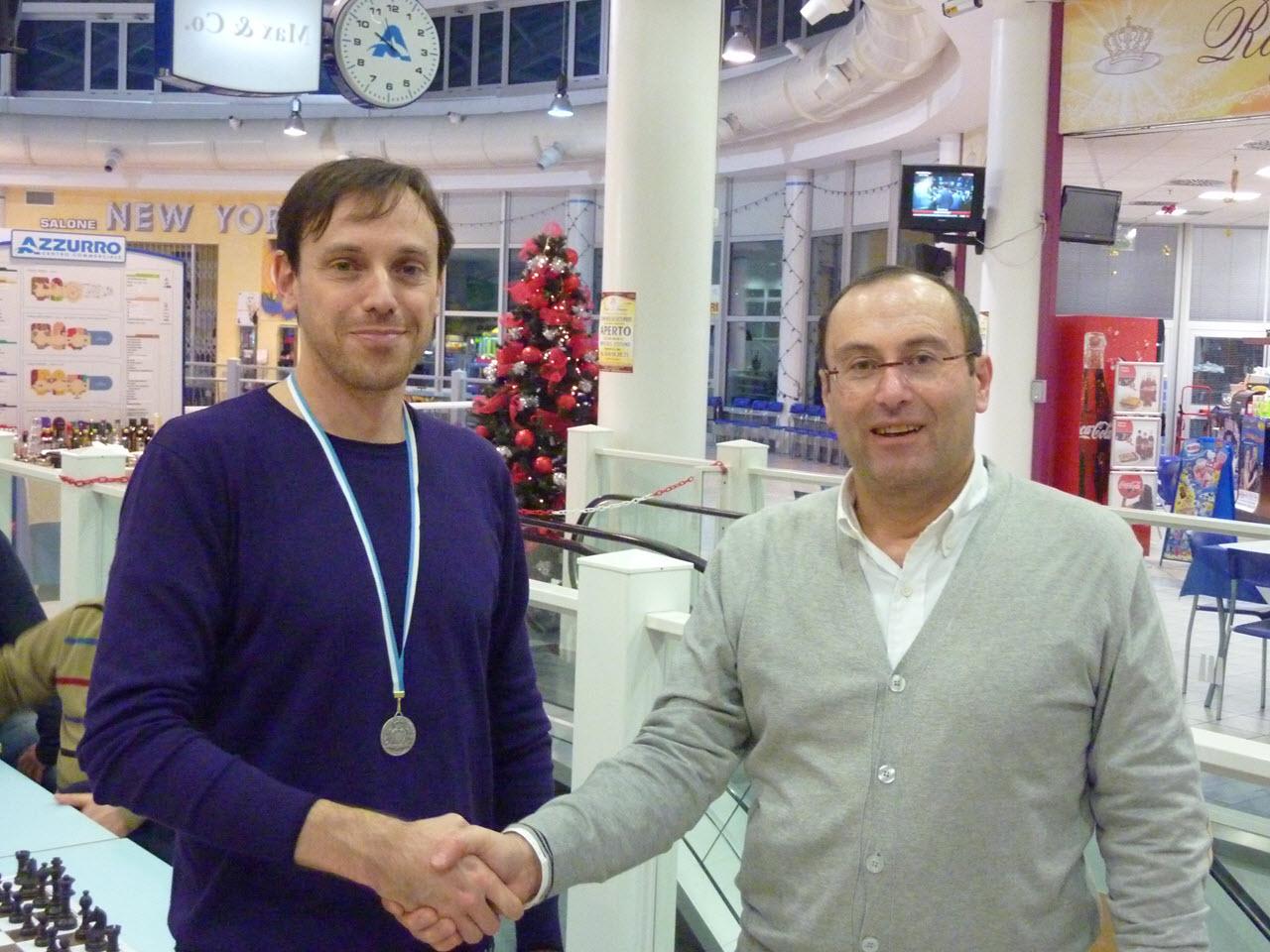 Campionato Sammarinese Semilampo 2010 - medaglia d'oro a Danilo Volpinari