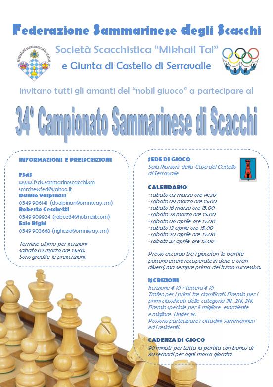 34° Campionato Sammarinese Assoluto