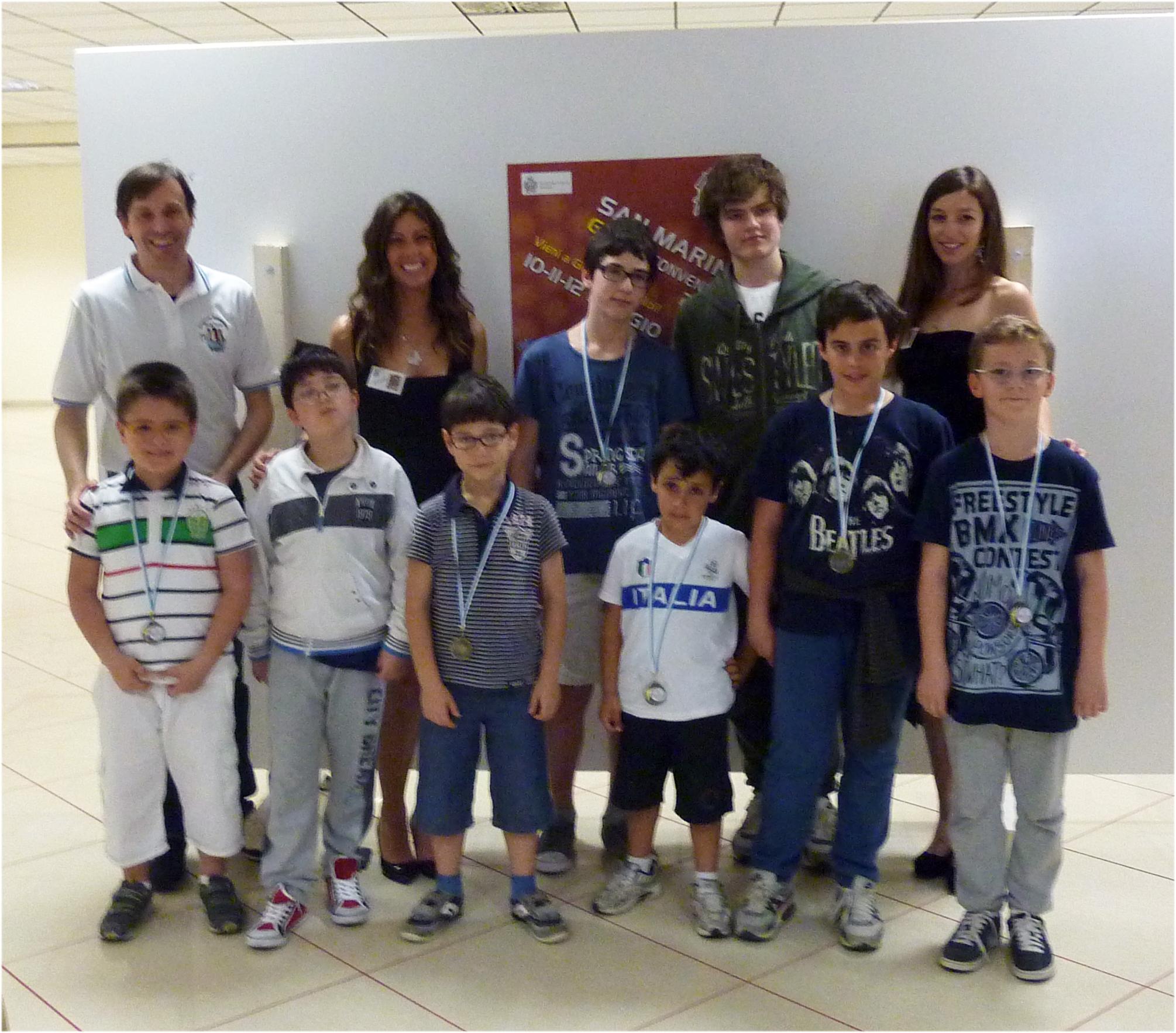 San Marino Game Convention 2013 - Torneo Giovanile di Scacchi