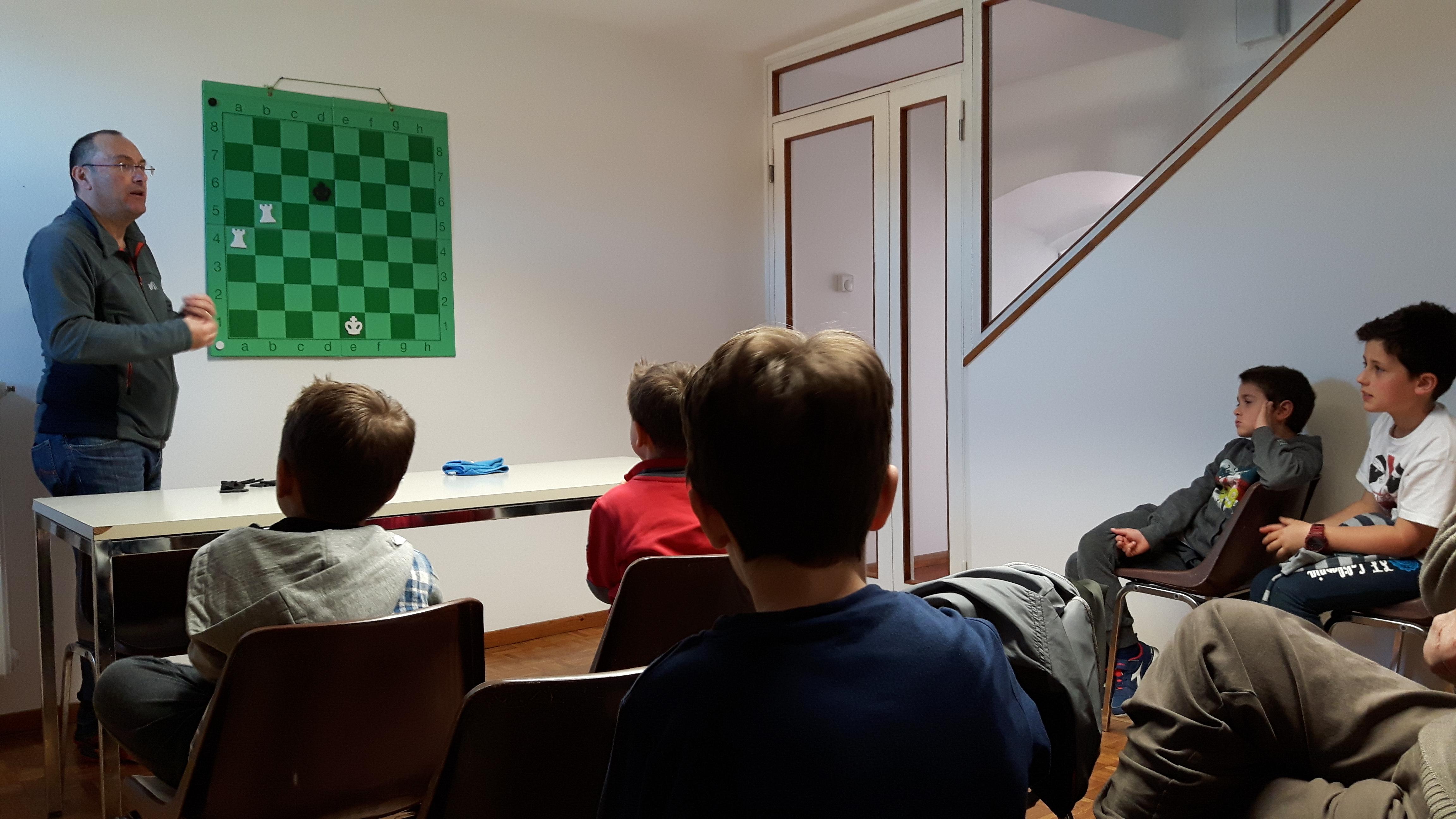 Corsi di scacchi 2018