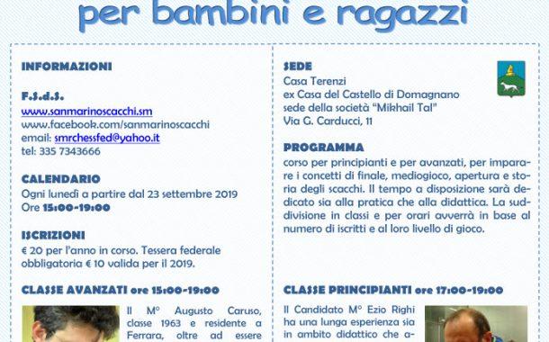 Corsi di Scacchi con Augusto Caruso ed Ezio Righi