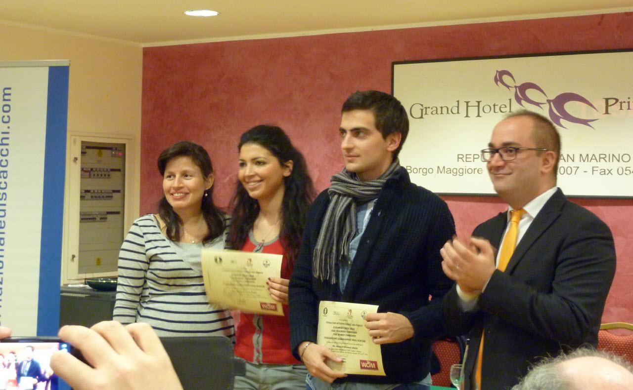 Seminario di FIDE Trainer a San Marino
