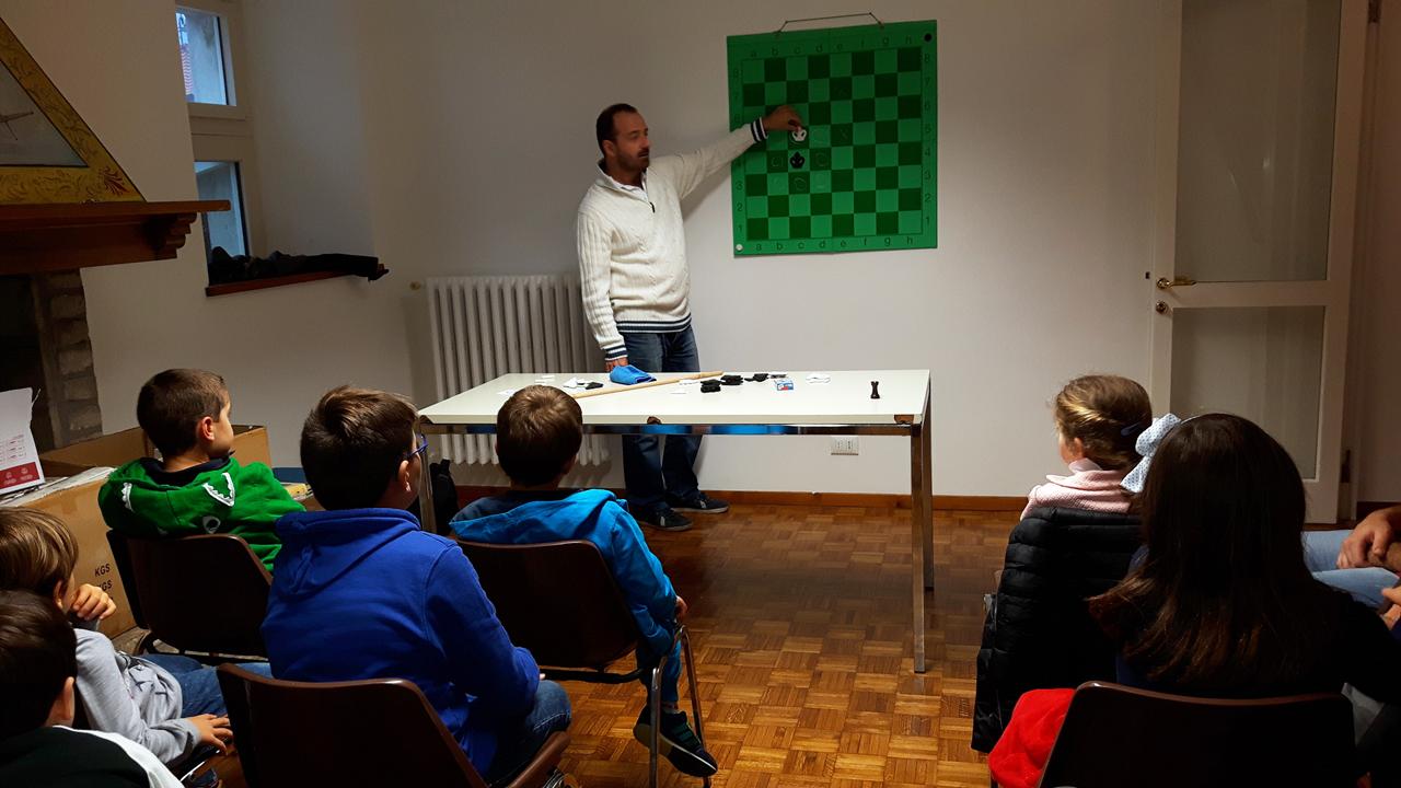 Corsi di scacchi per bambini e ragazzi da 6 a 13 anni