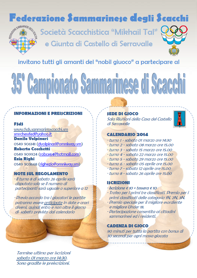 Campionato Sammarinese Assoluto 2014