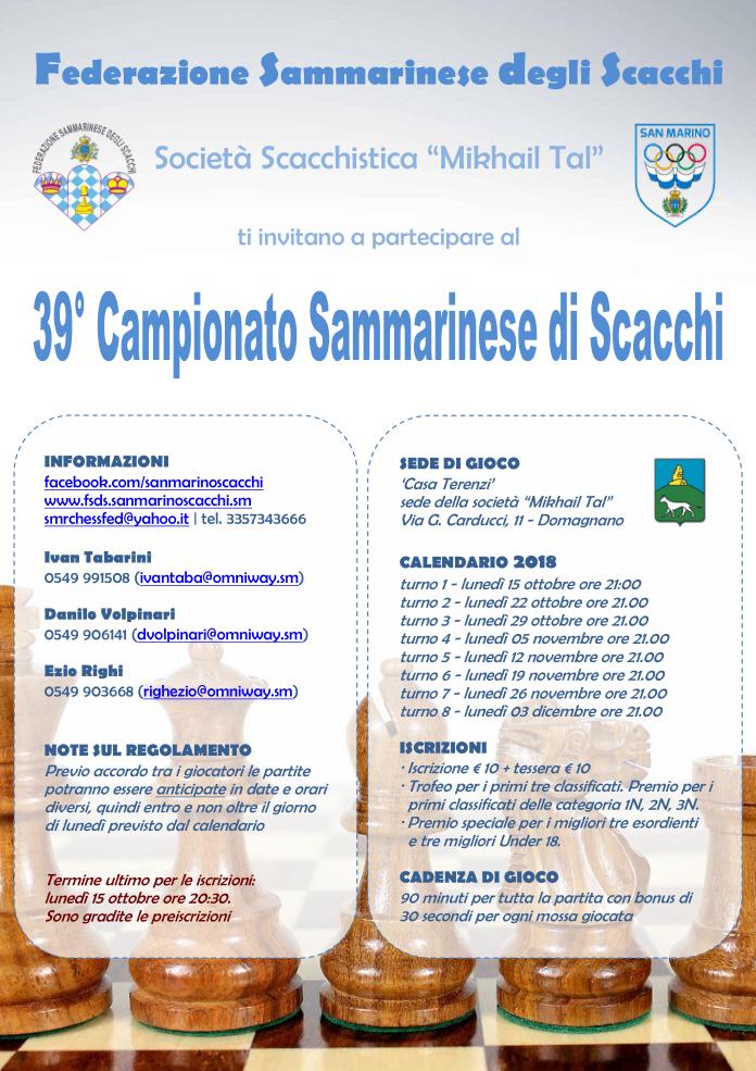 Campionato Sammarinese Assoluto 2018